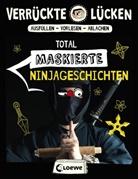 Jens Schumacher, Loewe Beschäftigung für Kinder - Verrückte Lücken - Total maskierte Ninjageschichten