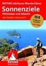 Rothe Bergverlag, Rother Bergverlag - ROTHER Jubiläums-Wanderführer Sonnenziele - Mittelmeer und Atlantik