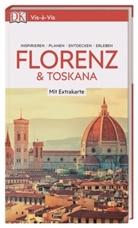 Anthony Brierley, Christophe Catling, Sara Lane - Vis-à-Vis Reiseführer Florenz & Toskana, m. 1 Karte
