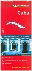 MICHELI, Michelin - Cuba - Michelin National Map 786