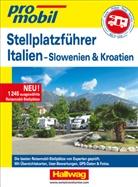 Hallwag Kümmerly+Frey AG, Hallwa Kümmerly+Frey AG - Stellplatz-Atlas Italien Promobil
