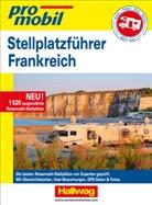 Hallwag Kümmerly+Frey AG, Hallwa Kümmerly+Frey AG - Stellplatz-Atlas Frankreich Promobil