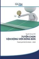 Nguy n Quang Vinh, Nguy¿n Quang Vinh - TUY N CH NV N NG VIÊN BÓNG BÀN