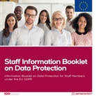 GD e V, GDD e.V. - Mitarbeiterinformation Datenschutz (Europa Ausgabe engl.)