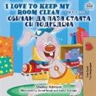 Shelley Admont, Kidkiddos Books - I Love to Keep My Room Clean (English Bulgarian Bilingual Book)
