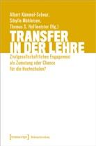 Thomas Hoffmeister, Thomas S. Hoffmeister, Jörre, Stefanie Jörres, Albert Kümmel-Schnur, Sibylle Mühleisen - Transfer in der Lehre
