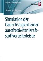Sebastian Rogowski - Simulation der Dauerfestigkeit einer autofrettierten Kraftstoffverteilerleiste