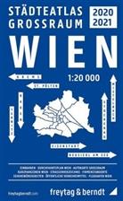 Freytag-Berndt und Ataria KG, Freytag-Bernd und Ataria KG - Wien Großraum Städteatlas 2020/21, Stadtplan 1:20.000