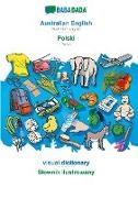 Babadada Gmbh - BABADADA, Australian English - Polski, visual dictionary - Slownik ilustrowany - Australian English - Polish, visual dictionary
