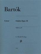 Béla Bartók, László Somfai - Bartók, Béla - Etüden op. 18