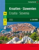 Freytag-Berndt und Artaria KG, Freytag-Bernd und Artaria KG - Kroatien - Slowenien, Autoatlas 1:150.000