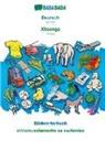 Babadada GmbH - BABADADA, Deutsch - Xitsonga, Bildwörterbuch - xihlamuselamarito xa swifaniso
