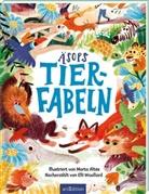 Aesop, Äso, Äsop, Elli Woollard, Marta Altés - Äsops Tierfabeln