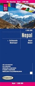 Reise Know-How Verlag Peter Rump, Reise Know-How Verlag Peter Rump - Reise Know-How Landkarte Nepal (1:500.000)