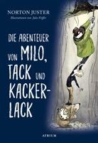 Jules Feiffer, Norton Juster, Jules Feiffer - Die Abenteuer von Milo, Tack und Kackerlack