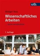 Rödiger Voss, Rödiger (Prof.Dr.) Voss - Wissenschaftliches Arbeiten