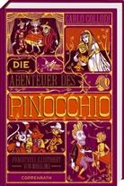 Carlo Collodi, MinaLima, Minalima Design - Die Abenteuer des Pinocchio