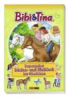 Panini - Bibi & Tina - Superstarker Sticker- und Malblock für Pferdefans