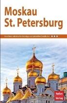 Niel Brunse, Elena u a Douda, Mario Kappler, Nelles Verlag, Nelle Verlag - Nelles Guide Reiseführer Moskau - St. Petersburg