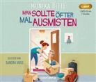 Monika Bittl, Sandra Voss - Man sollte öfter mal ausmisten, 1 Audio-CD, (Hörbuch)