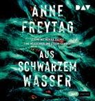 Anne Freytag, Stefan Kaminski, Monika Oschek, Timo Weisschnur - Aus schwarzem Wasser, 2 Audio-CD, (Hörbuch)