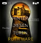 Ruth Ware, Julia Nachtmann - Hinter diesen Türen, 1 Audio-CD, MP3 (Hörbuch)
