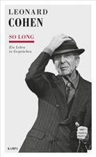 Leonard Cohen, Kampa, Daniel Kampa, Corneli Künne, Cornelia Künne - So long