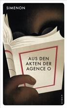 Georges Simenon - Aus den Akten der Agence O