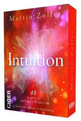Martin Zoller - Intuition, 48 Karten + Begleitbuch - Erkenne deinen Lebensweg
