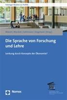 Siegfried Gehrmann, Siegfried Gehrmann u a, Ralp Mocikat, Ralph Mocikat, Ursula Münch, Jörg Siegmund - Die Sprache von Forschung und Lehre