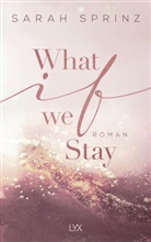Sarah Sprinz - What if we Stay
