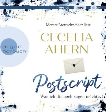Cecelia Ahern, Merete Brettschneider - Postscript - Was ich dir noch sagen möchte, 1 Audio-CD, MP3 (Hörbuch) - Gekürzte Ausgabe, Lesung