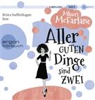 Mhairi McFarlane, Britta Steffenhagen - Aller guten Dinge sind zwei, 2 Audio-CD, MP3 (Hörbuch)