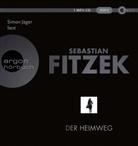 Sebastian Fitzek, Simon Jäger - Der Heimweg, 1 Audio-CD, MP3 (Hörbuch)