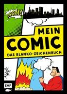 Mein Comic - Das Blanko-Zeichenbuch