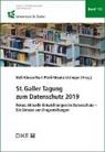 Ueli Kieser, Kurt Pärli, Ursula Uttinger - St.Galler Tagung zum Datenschutz 2019