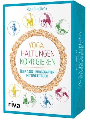 Mark Stephens - Yoga-Haltungen korrigieren, Übungskarten mit Begleitbuch - Über 100 Übungskarten mit Begleitbuch