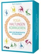 Mark Stephens - Yoga-Haltungen korrigieren, Übungskarten mit Begleitbuch