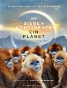 Scot Alexander, Scott Alexander, Davi Attenborough, David Attenborough, Jonn Keeling, Jonny Keeling - Sieben Kontinente - Ein Planet