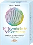 Pavlina Klemm - Heilsymbole & Zahlenreihen: 44 Karten zur Plejadenheilung, mit Begleitbuch