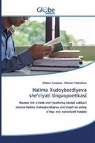 Dilorom Yuldasheva, Dildora Yusupova - Halima Xudoyberdiyeva she'riyati lingvopoetikasi