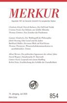 Christia Demand, Christian Demand, Knörer - MERKUR Deutsche Zeitschrift für europäisches Denken. Nr.854