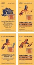 Freytag-Berndt und Artaria KG, Freytag-Bernd und Artaria KG - Deutschland, Autokarte mit Retrocover 1:500.000