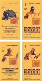 Freytag-Berndt und Artaria KG, Freytag-Bernd und Artaria KG - Österreich, Autokarte mit Retrocover 1:500.000