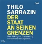 Thilo Sarrazin, Armand Presser - Der Staat an seinen Grenzen, 2 Audio-CD, 2 MP3 (Hörbuch)