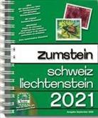 Zumstein Katalog Schweiz Liechtenstein 2021