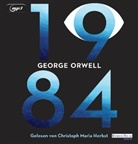 George Orwell, Christoph Maria Herbst - 1984, 2 Audio-CD, MP3 (Hörbuch)