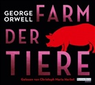 George Orwell, Christoph Maria Herbst - Farm der Tiere, 4 Audio-CD (Hörbuch)
