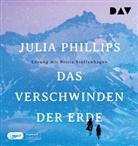 Julia Phillips, Britta Steffenhagen - Das Verschwinden der Erde, 1 Audio-CD, MP3 (Hörbuch)
