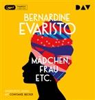 Bernardine Evaristo, Constanze Becker, Dela Dabulamanzi - Mädchen, Frau etc., 2 Audio-CD, MP3 (Hörbuch)